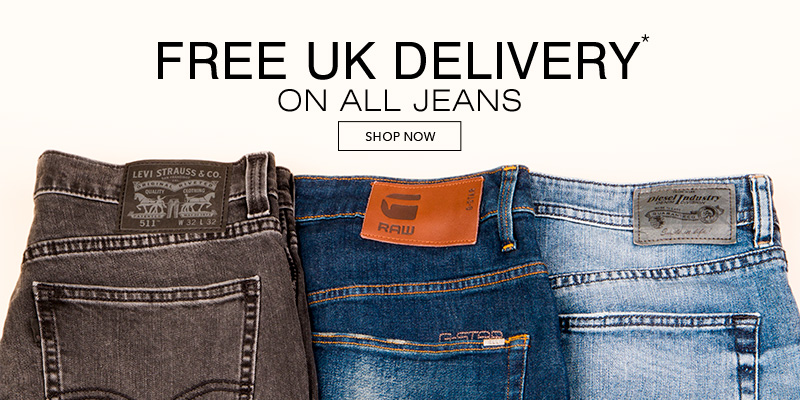 Free UK Delivery On All Jeans