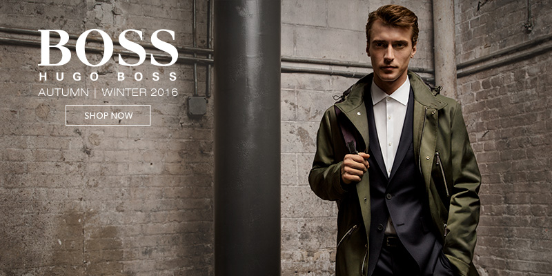 Hugo Boss Black, Orange and Green at Mainline Menswear