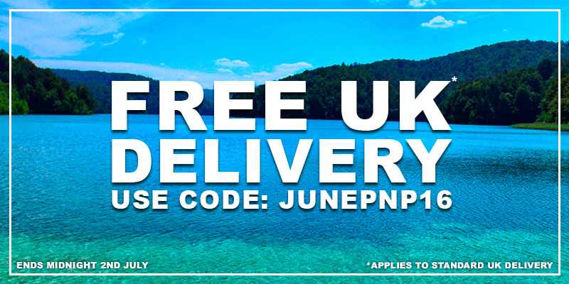 Free UK Delivery - Use Code: JUNEPNP16