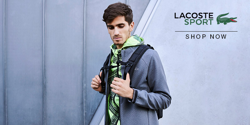 Shop Lacoste Sport Spring Summer 2018 Collection