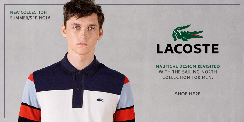 Brand New Spring Summer Lacoste Online Now