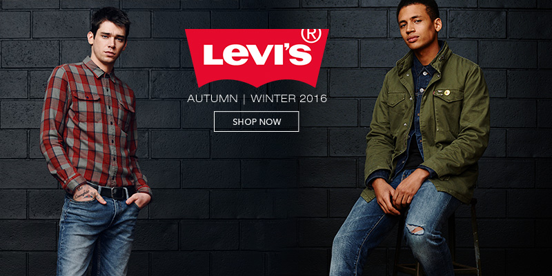 Levis Denim and Clothing for Autumn Winter 2016