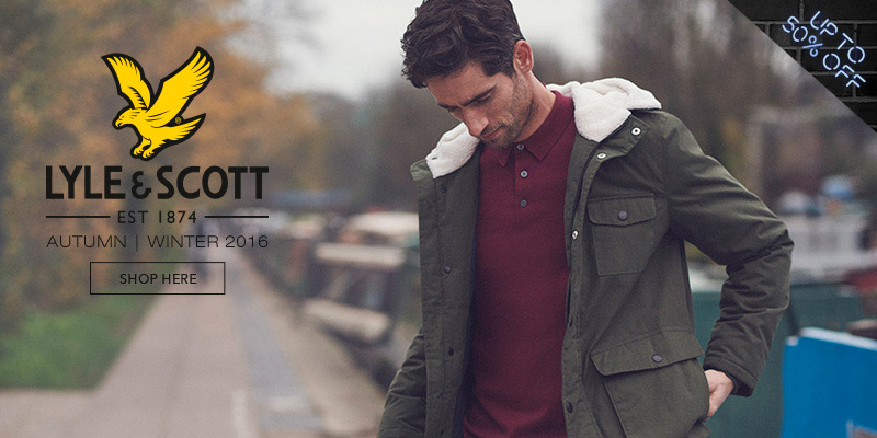 Lyle & Scott - Up to 50% Off