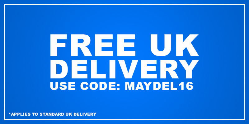 Free UK Delivery - Use Code: MAYDEL16