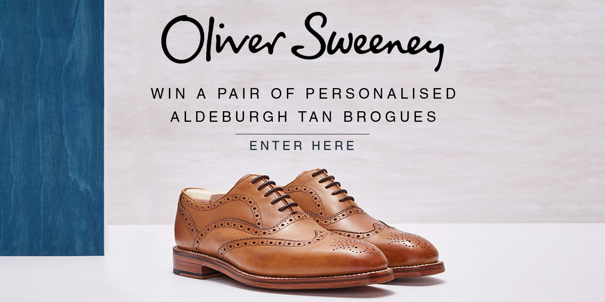 Win a pair of personalised Oliver Sweeney Shoes - Enter Here