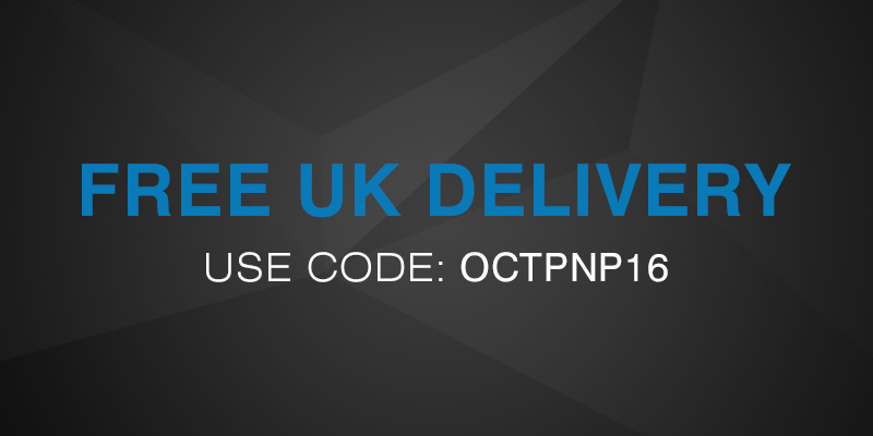 Free UK Delivery Now On - Use Code: OCTPNP16