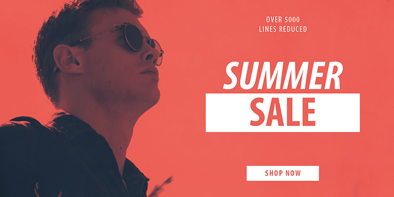 Summer Sale NOW ON! Over 5000 Products Reduced - Shop Now