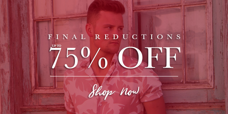 Final Reductions - Up to 75% Off