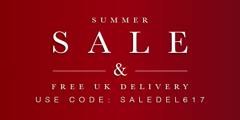 Summer Sale & Free UK Delivery - Use Code: SALEDEL617