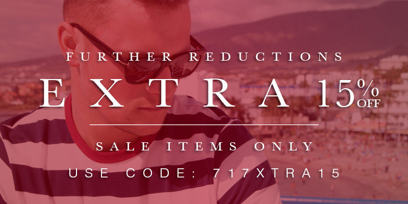 Extra 15 Off Sale Items Use Code 717xtra15