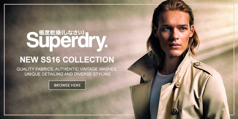 Brand New Superdry at Mainline Menswear