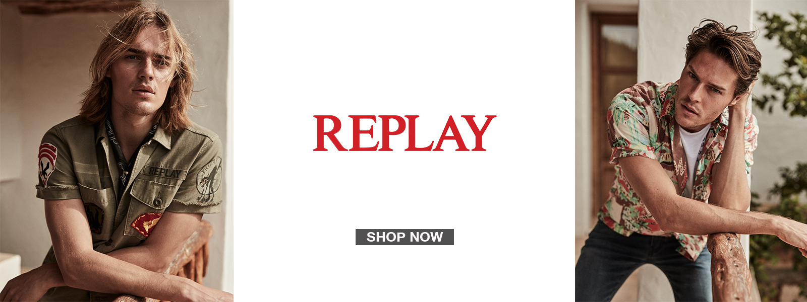 Replay - Spring Summer 19 Collection - Shop Now