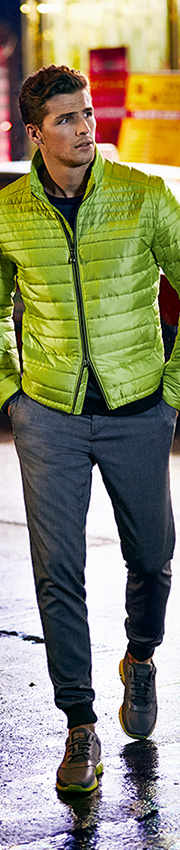HUGO BOSS Green Jeans and Trousers