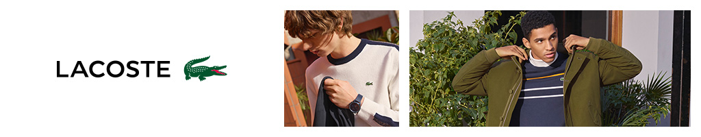 Lacoste Jumpers and Zip Tops