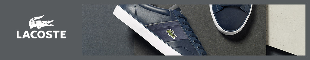 Lacoste Trainers and Shoes