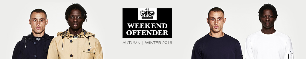 Weekend Offender Jumpers and Zip Tops