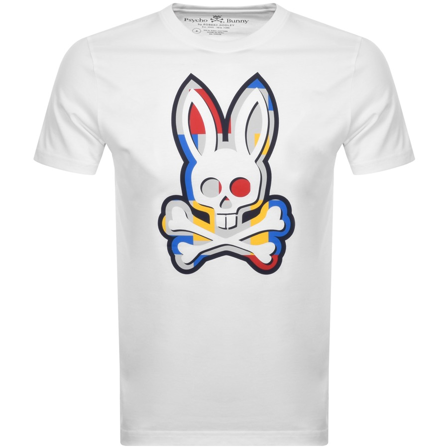 Psycho Bunny Graphic Crew Neck T Shirt White