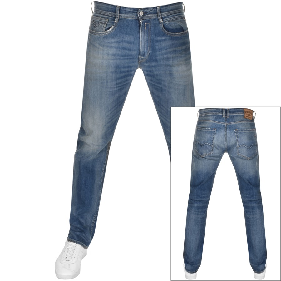 Replay COMFORT FIT ROCCO JEANS BLUE