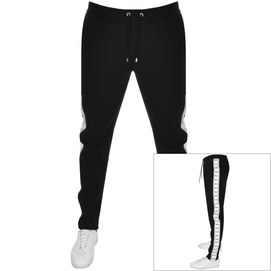 BALR Repeat Tape Logo Jogging Bottoms Black