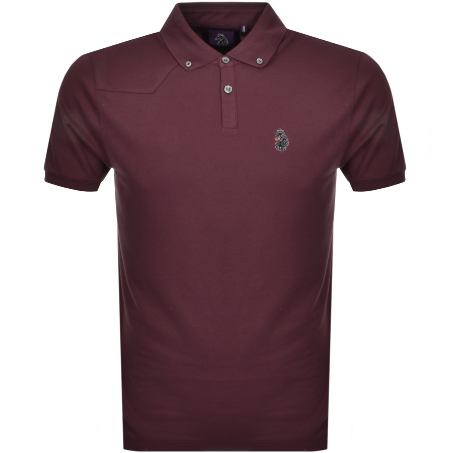 Luke 1977 New Bill Polo T Shirt Burgundy