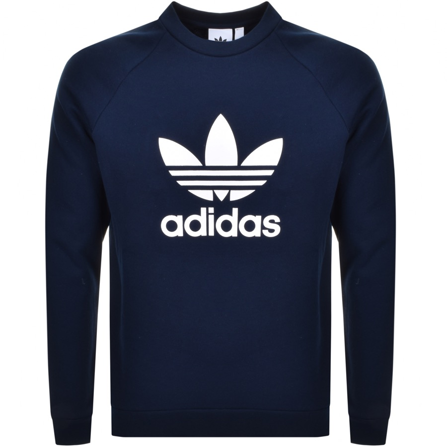 Adidas Originals Trefoil Sweatshirt Navy
