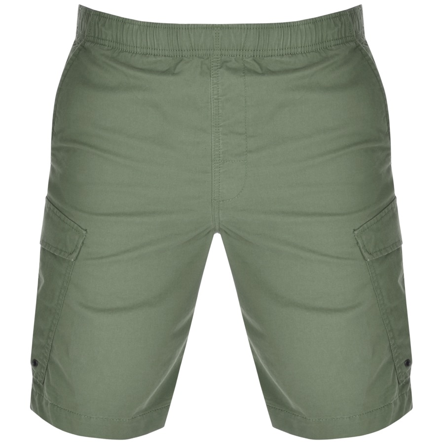 Superdry World Wide Cargo Shorts Green