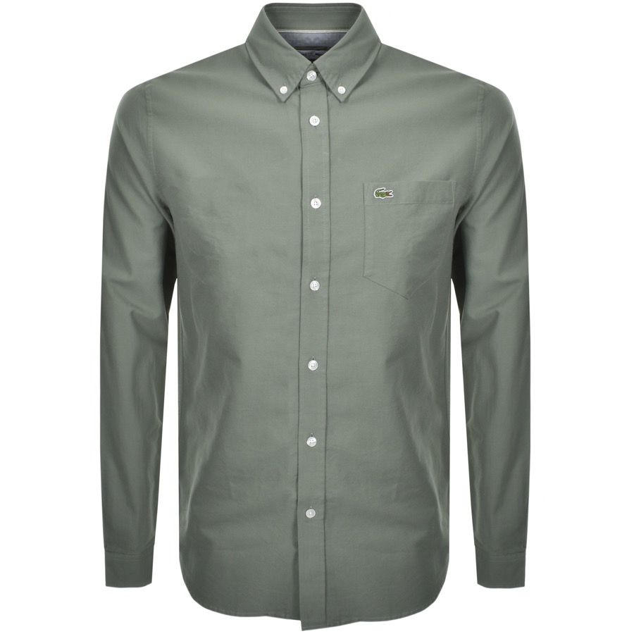 Lacoste Long Sleeved Shirt Green