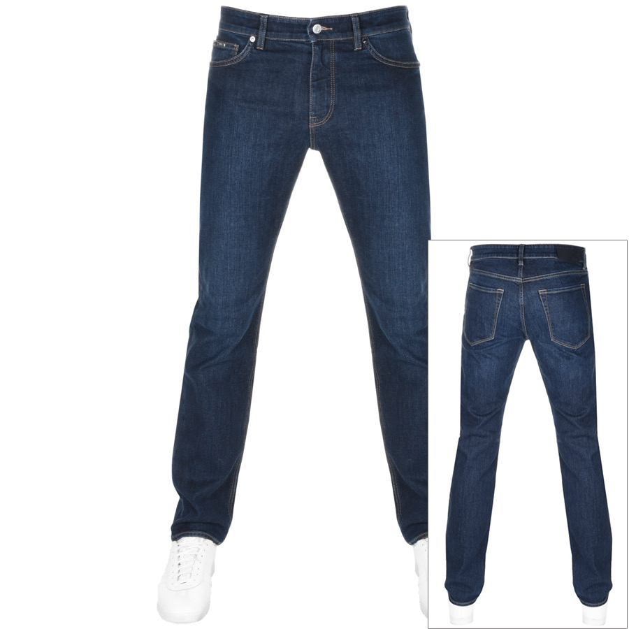 BOSS HUGO BOSS Maine 3 Jeans Navy