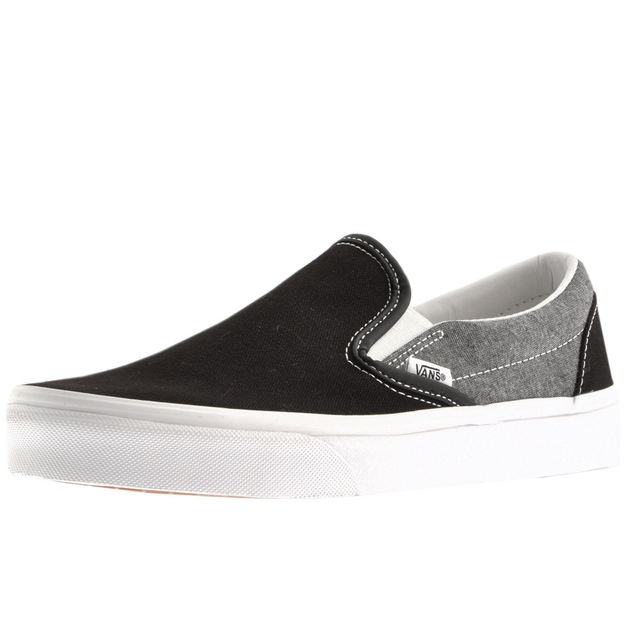 Vans Classic Slip On Trainers Black