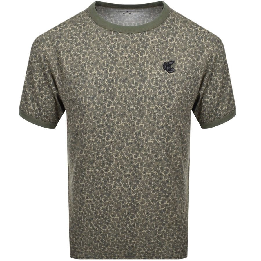 Vivienne Westwood Small Orb T Shirt Green