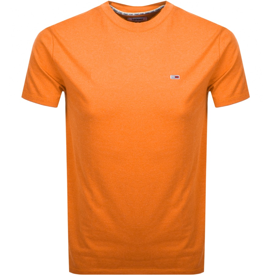 Tommy Jeans Blended T Shirt Orange
