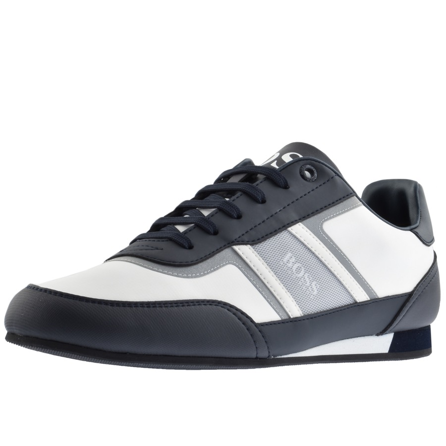 BOSS Athleisure Lighter Lowp Trainers Navy