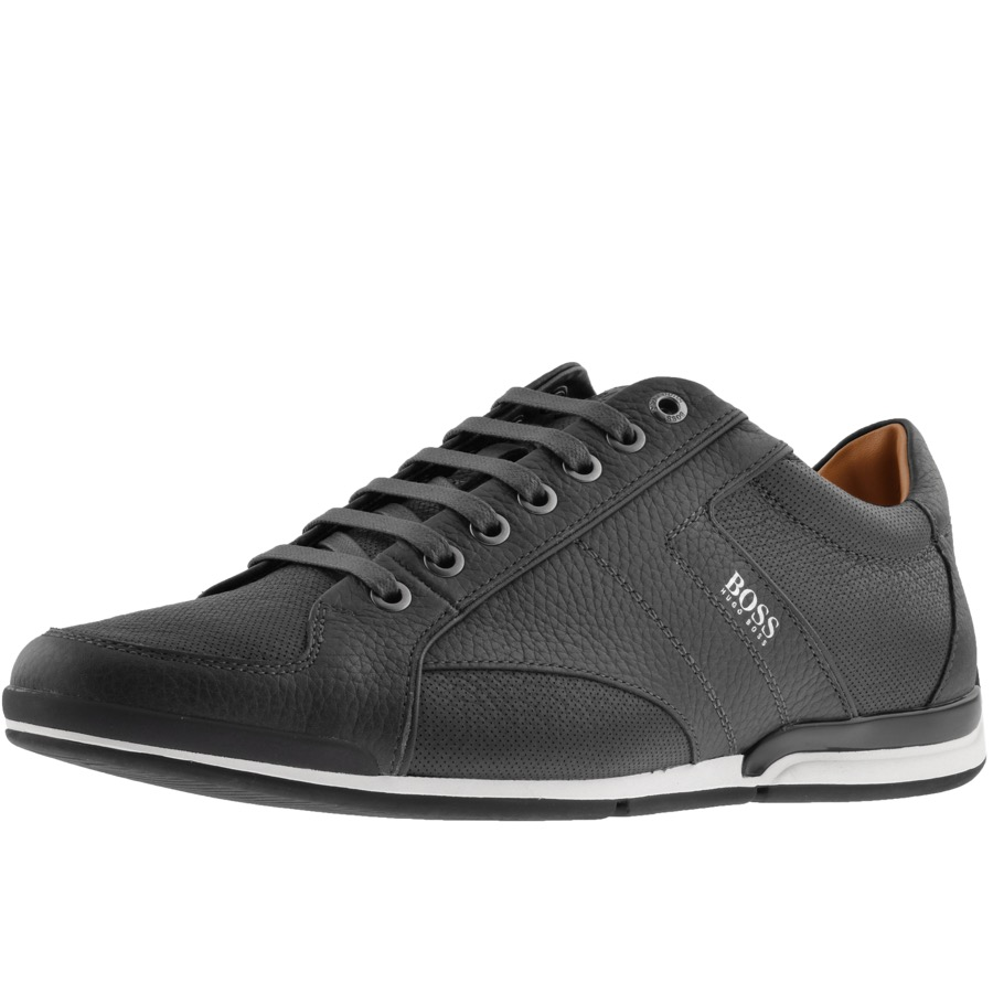 BOSS Casual Saturn Lowp Trainers Black