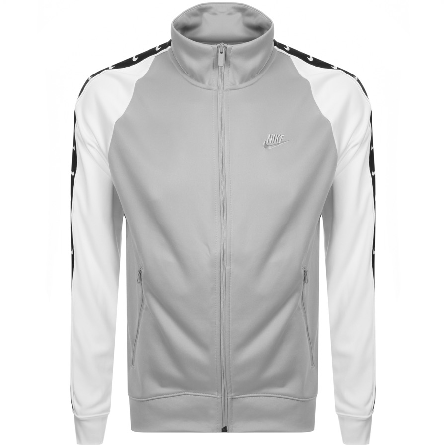 Nike Tribute Full Zip Track Sweatshirt Grey
