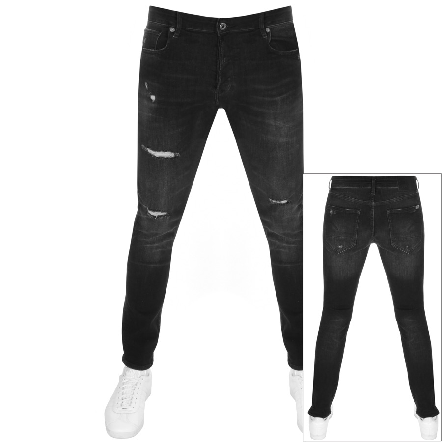 G Star Raw 3301 Slim Fit Jeans Grey