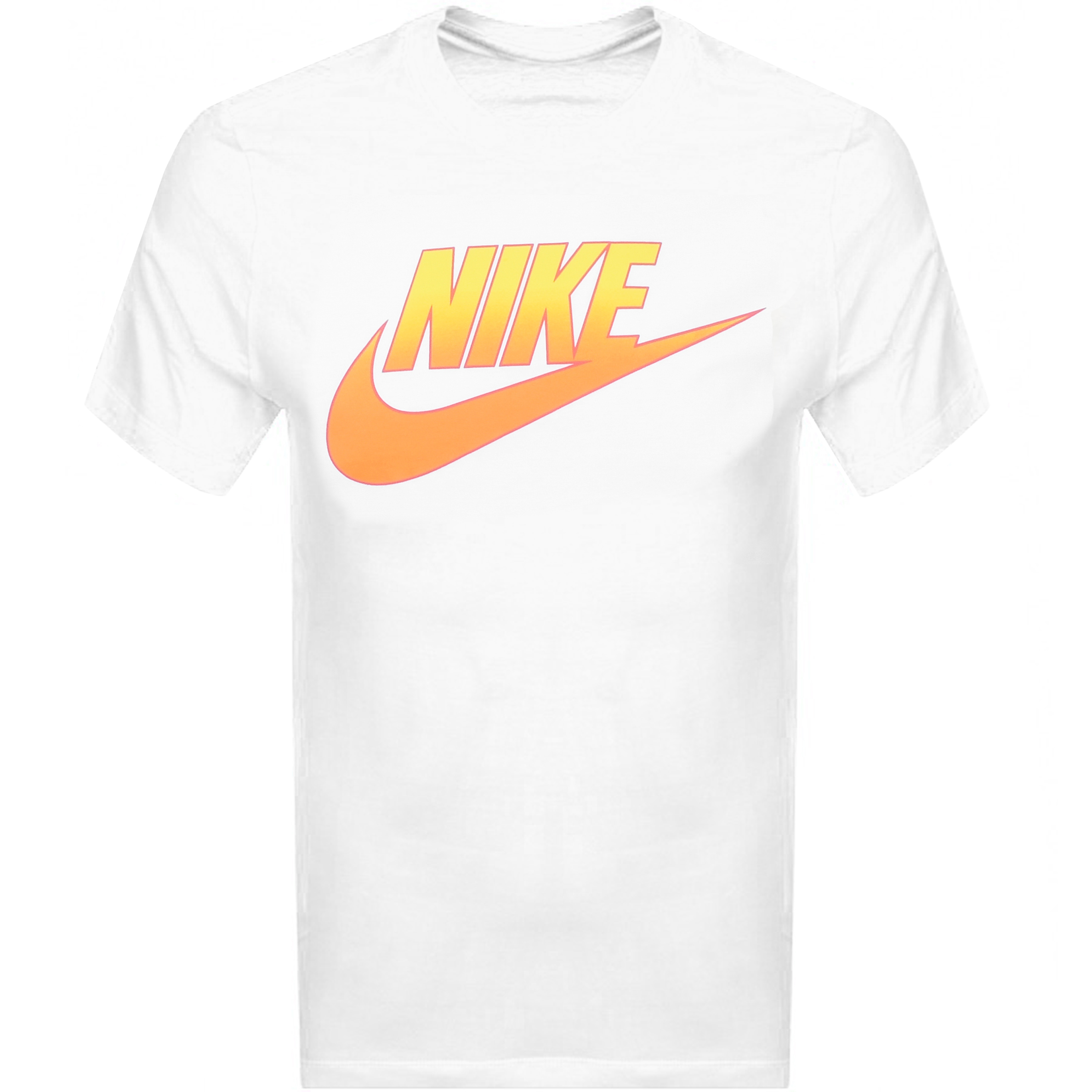 Nike Crew Neck Logo T Shirt White