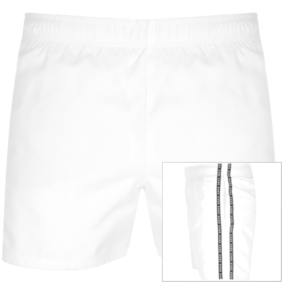 HUGO Anguilla Swim Shorts White