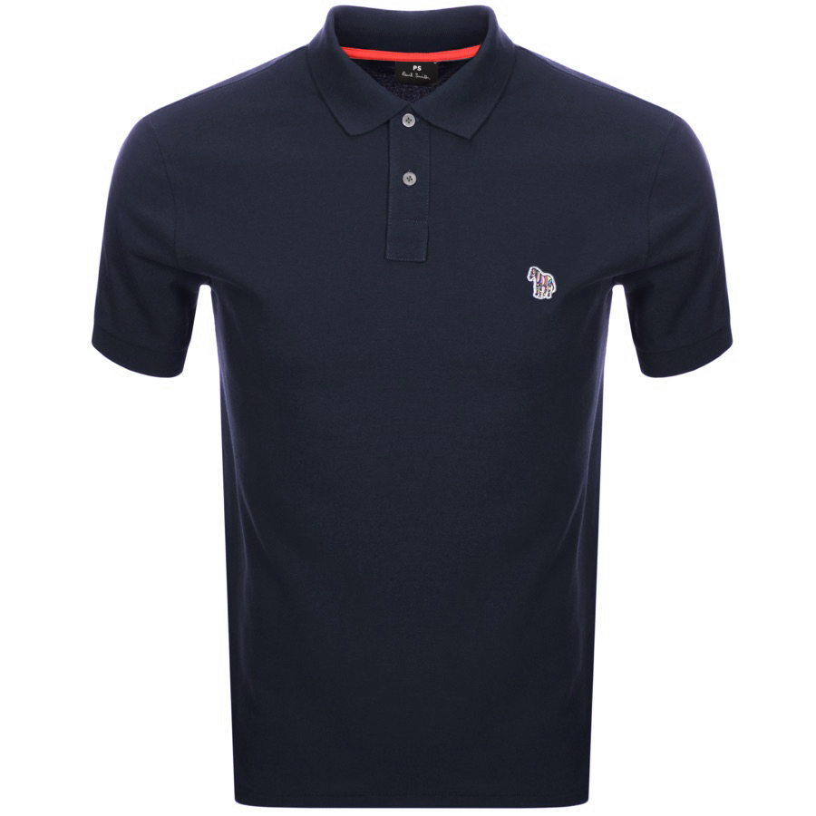 PS By Paul Smith Regular Polo T Shirt Navy