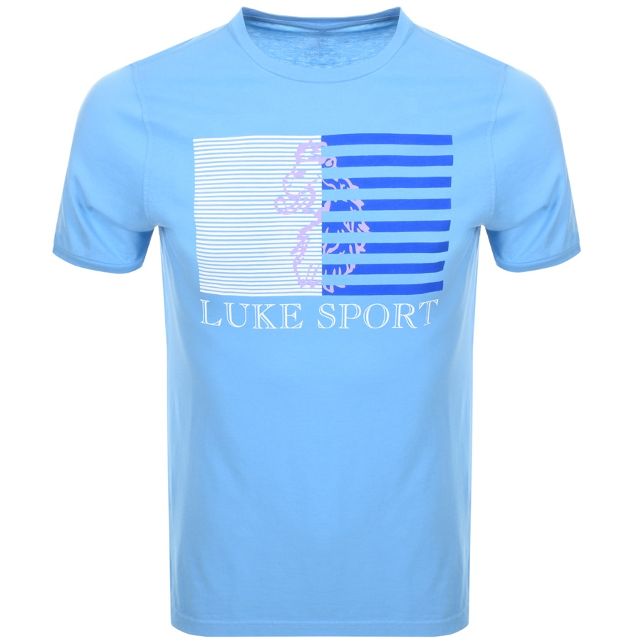 Luke 1977 Cruyff T Shirt Blue