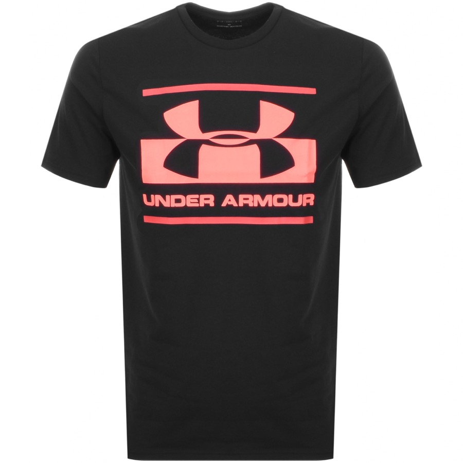 Under Armour Foundation Logo T Shirt Black