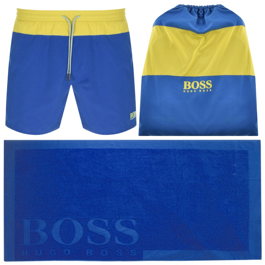 BOSS HUGO BOSS Beach Set Blue