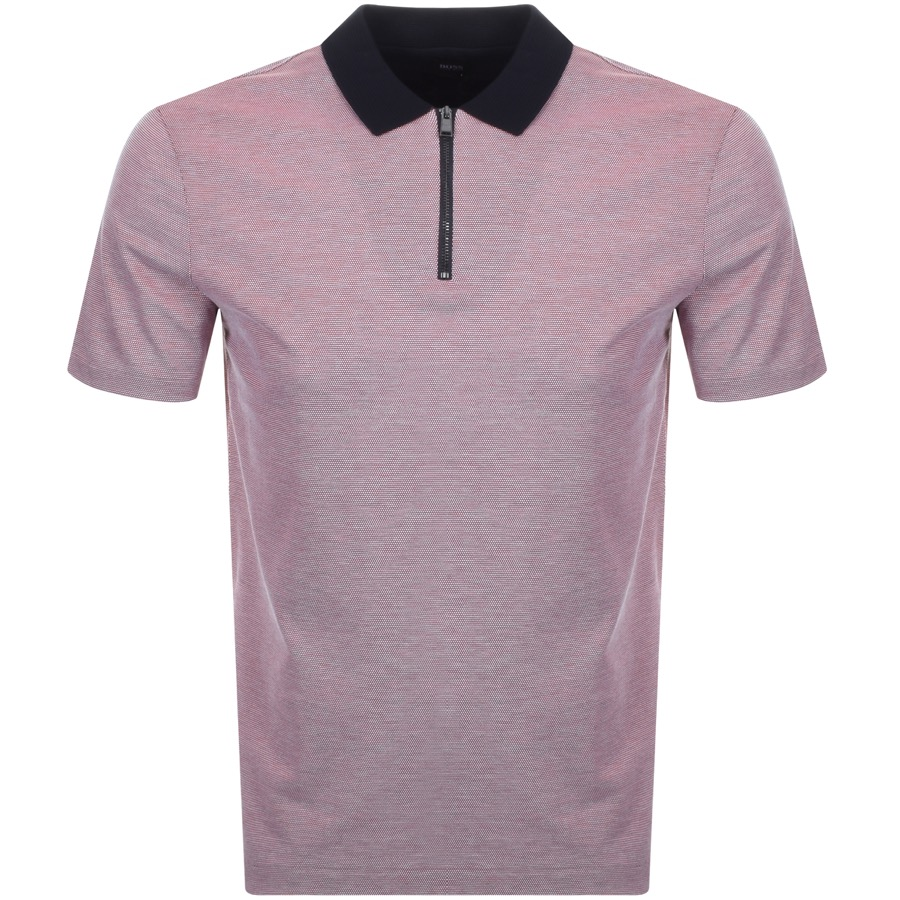 BOSS HUGO BOSS Paras Polo T Shirt Red