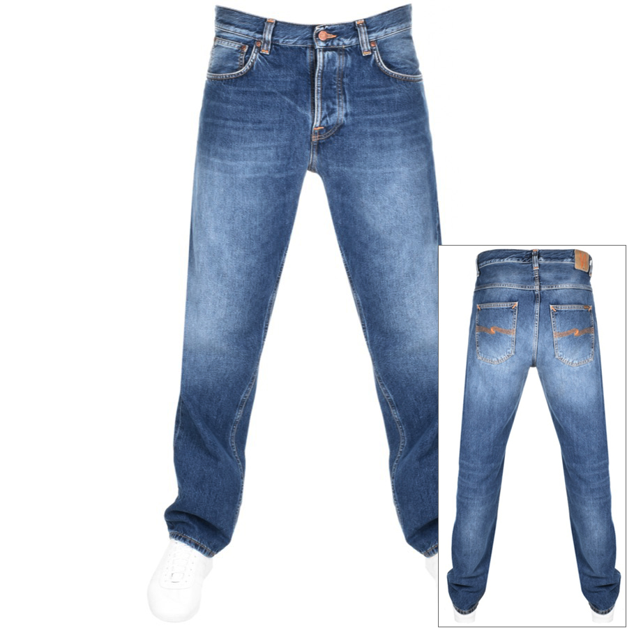 Nudie Jeans Sleepy Sixteen Jeans Blue