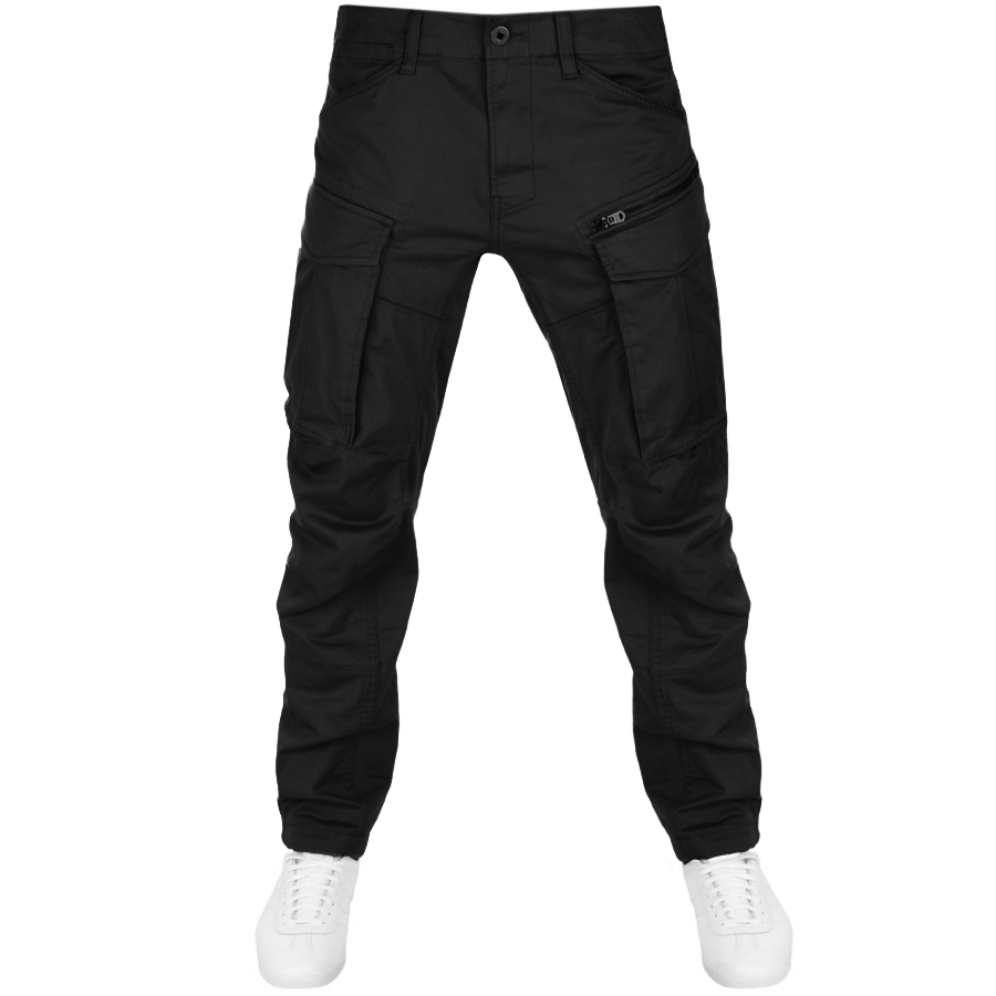G Star Raw Rovic Tapered Trousers Black.