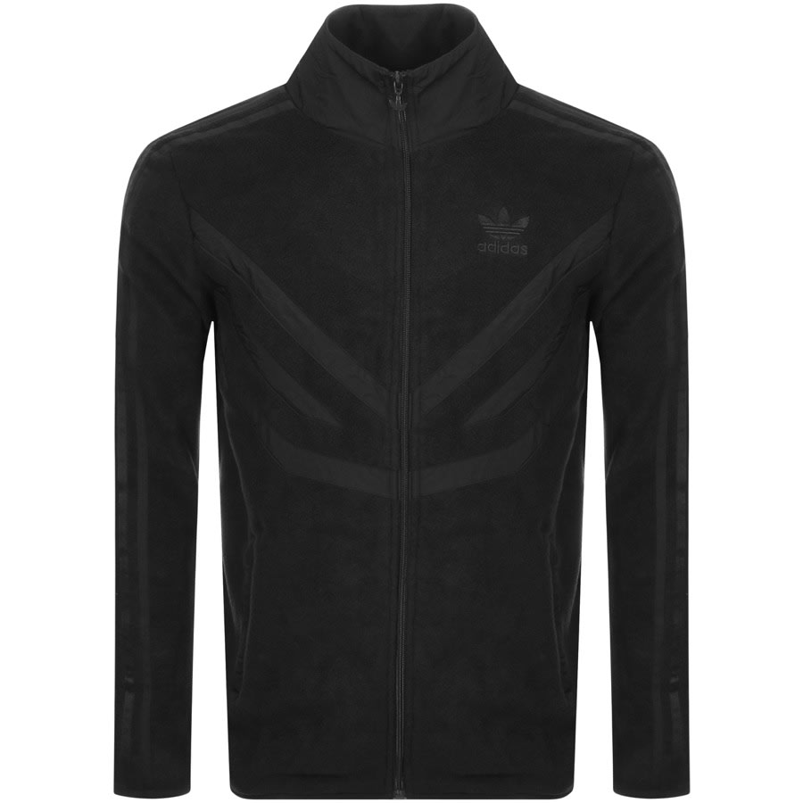 Adidas Originals PFleece Full Zip Track Top Black