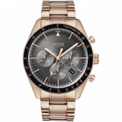 BOSS HUGO BOSS Trophy Watch Rose Gold