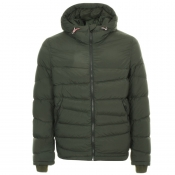 Rossignol Piece Dye Down Jacket Green
