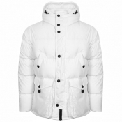 Peak Performance X2 Down Padded Parka Jacket White