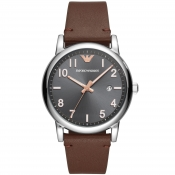 Emporio Armani AR11175 Watch Brown