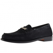 GH Bass Weejun Lincoln Reverso Loafers Navy